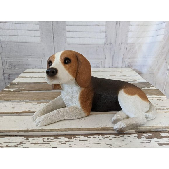 Sandicast beagle dog puppy Lane brue doorstep 1985